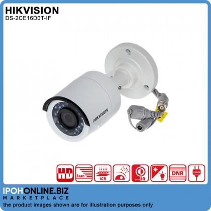 Hikvision DS-2CE16D0T-IF 2MP 1080P 3.6MM OUTDOOR INDOOR 4 In 1 TVI/AHD/CVI/CVBS/RG59 CCTV Bullet Camera