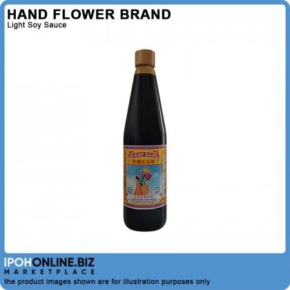 Hand Flower Brand Light Soy Sauce 650ml